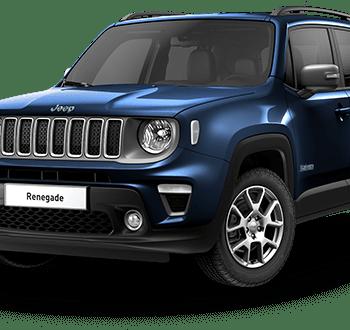 Noleggio Jeep Renegade 4XE