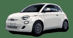 Noleggio Fiat 500 elettrica action da €299 al mese